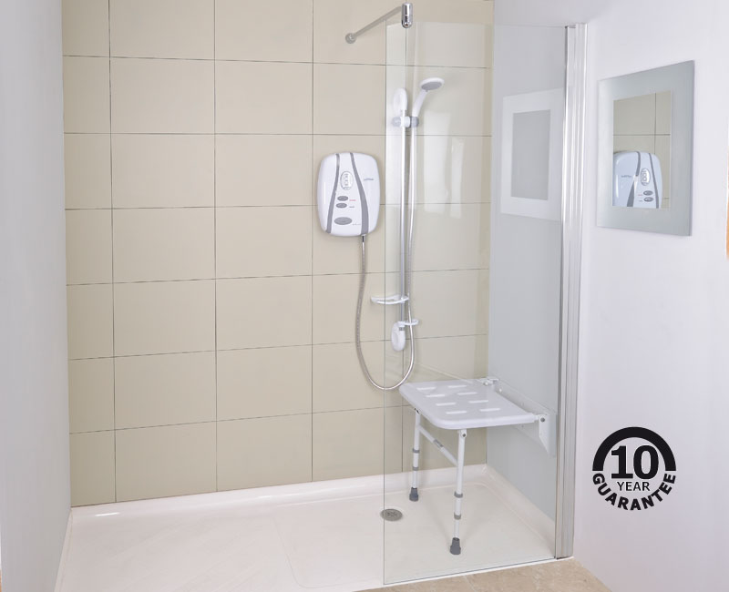 Contour Showers | UK Specialists in Disabled Showers - Glass Screen