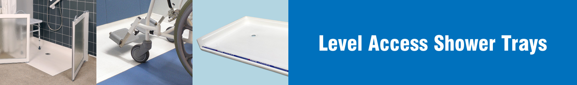 Level Access Shower Trays banner image