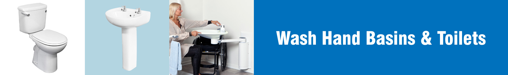 Wash Hand Basins & Toilets banner image