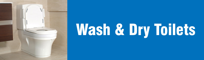 Wash & Dry Toilets banner image