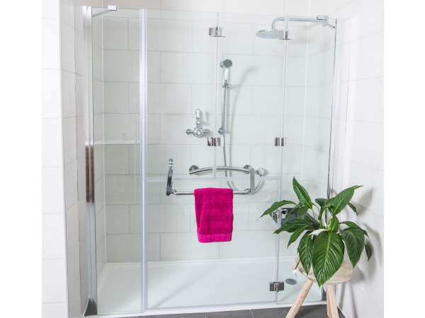 Opulence Alcove Top Bifold Shower Enclosure