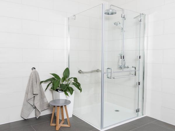Opulence Corner Top Bifold Shower Enclosure