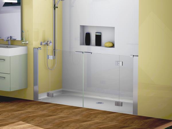 Opulence Half Height Alcove Shower Doors