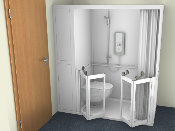 Full WC Shower Cubicle 4