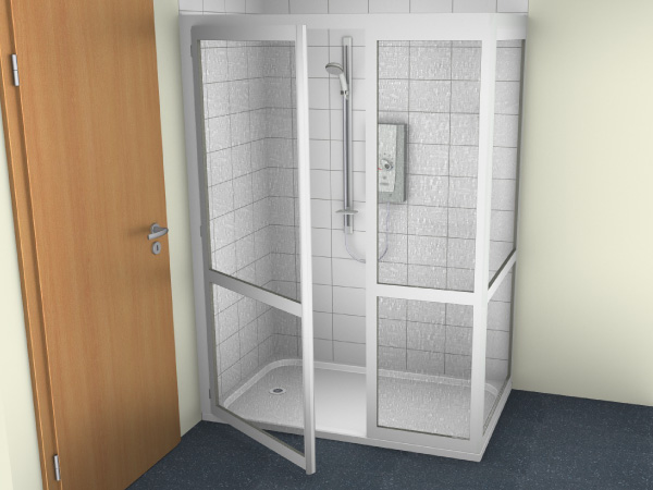 Shower Cubicle 7