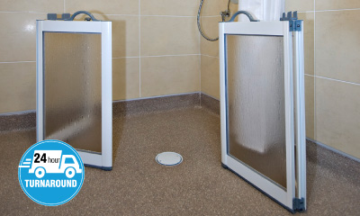 Contour Showers Are The Half Height Shower Door Specialists